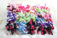 Wholesale 5 CM Baby Korker Hair Bows Grosprain Ribbon Bows Kids Barrettes Korker bows