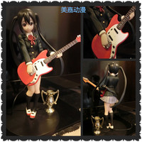 Roles anime toys - Japanese anime Garage Kit K ON Girls Nakano Azusa Trophy Animation model PVC toys cm