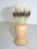 Wholesale Pure bristle brush Men supplies supply beech handle imitation badger hair dyed beard style brush pure bristle brush Health shavi