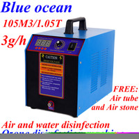 Wholesale BO WD AC90 V HZ g h adjustable ozone generator for water treatment drinking water Bottled water disinfection machine ozoni