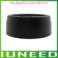 Wholesale 01E161 High Quality New Black EW II Camera Lens Hood For Canon EF mm f2 EF mm quality first