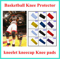 Wholesale 2015 new Basketball Knee Protector kneelet kneecap Knee pads long and short styles for choice