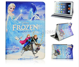 Wholesale Hot sell Frozen pattern Smart Cover Case For Appel iPad mini Ultra thin protective shell sleep Tablet PC case cover