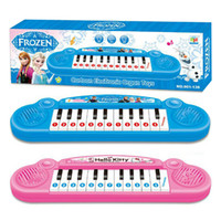 baby keyboards - Musical instruments toy for kids Frozen girl Cartoon electronic organ toy keyboard electronic baby piano with music song