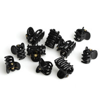 Black plastic headbands - Fashion Mixed Shape Small Plastic Black Hair Claws Fashion Hair Clips