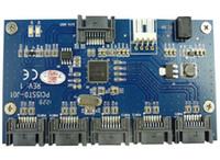 Wholesale Multiplier SATA Card SATA To Port Adapter SATAII Riser card