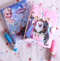 Hot Selling Cartoon Frozen Princess Elsa Anna Sofia Diary No...