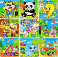 Wholesale Hot sale Wooden puzzles children s educational toys pieces jigsaw puzzles children puzzle toy