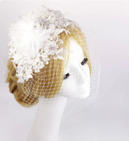 Fascinators Silk Flower  2015 #046 Free Shipping! Shining Wedding Bridal Accessories Crystal Veil Tiara Crown Jewelry Crystal Hair Accessories