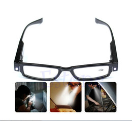 Wholesale Multi Strength LED Reading Glasses Eyeglass Spectacle Diopter Light UP