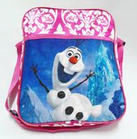 Wholesale Frozen The newest baby girl boy cartoon schoolbag children travel backpack shoulder bag A