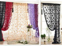Wholesale Adhesive tape s Butterfly String Curtain cm Butterfly Design Fringe Curtain Room Dividers Screens Wedding Drapery
