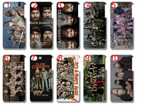Plastic duck dynasty - hot for sale new duck dynasty plastic case hard back cover for iphone C