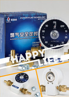 Wholesale Fantastict gift for home Auto safety gas off valve for stoves and heaters using pipelined gas LPG CNC companion of barbecue grill