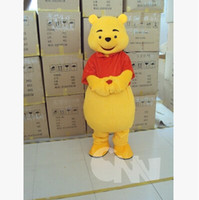 Wholesale A large number of sales of the new yellow lovely winnie the pooh The Cartoon Mascot