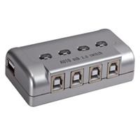Wholesale Genuine Maxtor four automatic USB print sharing four print sharing Printer sharing baihuo