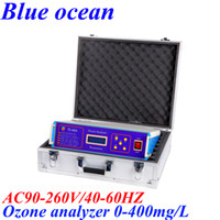 Wholesale TS A AC90 V HZ mg L Ozone Analyzer ozone concentration monitor for Ozone concetration measurement gas detector monitor