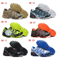 Wholesale 2014 New Speedcross men Athletic Shoes Running Shoes Zapatillas Hombre Walking Outdoor Sport Shox Men Walking Ourdoor Sport Shoe
