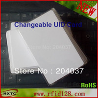 Wholesale 2PCS MHZ Rewritable Smart IC Chip UID Changeable Card With1K Bytes K Bits For MF1 M1 Card Copy Duplicate