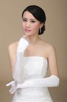 Wholesale Wonderful New Arrival Sexy Fashion Bridal Gloves Finger Wrist Ruffles Elegant Classic Noble Fantastic Bridal Gloves