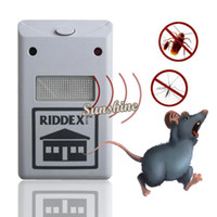 Wholesale 2014 New Electronic EU Plug Ultrasonic Pest Control Rodent Repellent Anti Mosquito Insect Mouse Repeller Killer SV001561