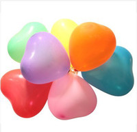 Wholesale 100 mounted heart shaped Valentine s Day wedding marry pearl balloons balloon balloon arches arranged marriage