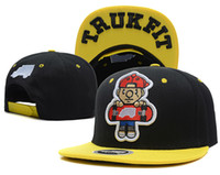 Wholesale The Tommy Trukfit Snapback Cap Hot NEW Trukfit Unisex Snapback Hats adjustable Baseball Cap Hip Hop style Caps