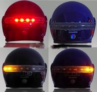 Precio de La iluminación universal,-Kits sin hilos de la luz de la señal de vuelta del freno del casco de la motocicleta 2.4G ¡Envío libre, envío de la gota !!!