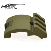 Wholesale HFIRE Tactical Offset Rail Adaptor with Slots Dark Earth