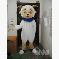 Wholesale Mascot Cartoon Pleasant Goat And grey Wolf Cartoon Cartoon Doll Clothing Produce Formally