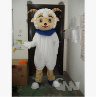 Wholesale Mascot Cartoon Pleasant Goat And grey Wolf Cartoon Cartoon Doll Clothing Produce Formally