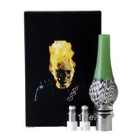 Cheap Glass tank dry herb atomizer for ego battery bulb atomizer Dry Herb Wax Vaporizer herbal vaporizers pen vapor DHL FREE