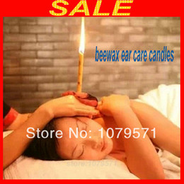 Wholesale 2000pcs pairs Aromatherapy Ear Candles Refreshing Beewax Ear Care Candles