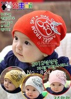 Wholesale New children spring cotton cloth cap children bicycle cap bicycle wings baby hats