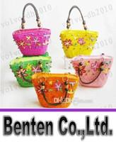 Totes Women Plain Hot Sale Children's Bags Sweeet new designer crochet children handbag for little girl knitted bag LLFA7037