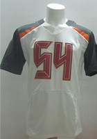 Football Men Short Wholesale #54 White Elite Football Jerseys 2014 New Season Best American Football American Football Teams Jersey Cheap Outdoor Uniform