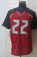 Wholesale #22 Doug Martin Red Football Jerseys Best Style Me...