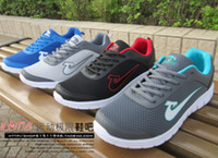 Wholesale summer running shoes for men ultra light gauze fabric sports casual shoes janoski plus size