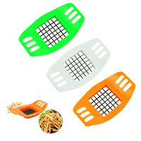 Cheap New Stainless Steel Cutter Potato strip-cutter Chip Vegetable Slicer Tools quality first 1pcs