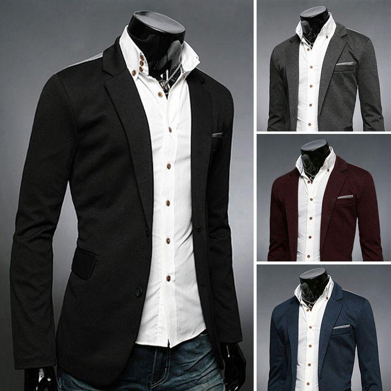 Hot! Top Mens Suit 2014 Autumn New Fashion Slim Casual Men Blazer ...