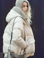 Wholesale new European and American military jacket military equipment female long section of thick down jacket XL