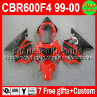 7gifts Stock red For HONDA CBR600F4 99- 00 CBR600 F4 C#L422 C...