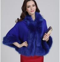 Wholesale New Fashion fur vest shawl fur coat women faux fur coat Noble temperament fur coat winter leather jacket women