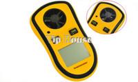 Wholesale New Fashion Lcd Digital anemometer wind speed meter Gauge Anemometer Measures NTC Temperature Spot Wind Speed Meter B16