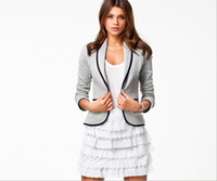Wholesale NEW jackets women Winter and autumn fashion coat for woman cotton jacket size XS XXL slim type