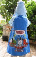 Wholesale Thomas thomas child raincoat cartoon school bag raincoat poncho rain gear
