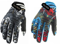 Wholesale Motorbike Off road Racing Riding Cycling FOX MTB Bicycle Road Bike Sports Full Finger ATV Motorcycle Gloves BMX Mittens M L XL