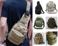 Wholesale Cool Man Women Outdoor Sport Camping Hiking Trekking Bag Military Tactical Shoulder