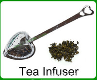Wholesale Tea Infuser Stainless Steel Strainer Filter Spoon Wedding Party Gift Favor tea strainer tea clip WF001