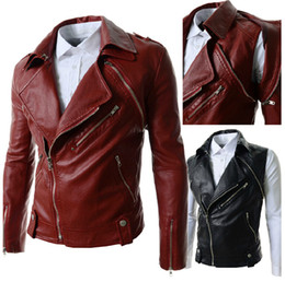 Wholesale 2014 autumn fall winter Fashion New men jackets Korean casual cardigan leather jacket outwear coats men s clothing